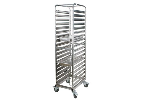 Saro Regaal trolley 18 etages | 60 x 40 cm