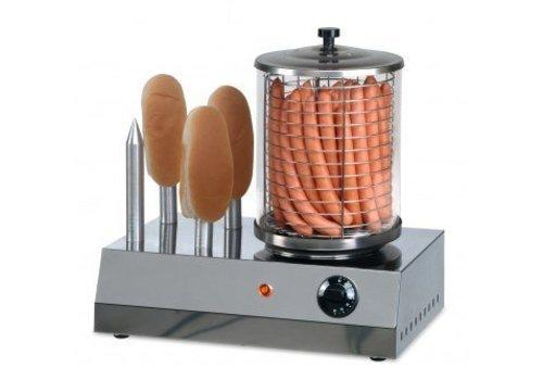 Saro Hotdog Verwarmer | RVS