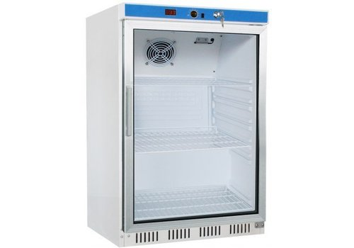 Saro Kühlschrank mit Glastür | 130 Liter