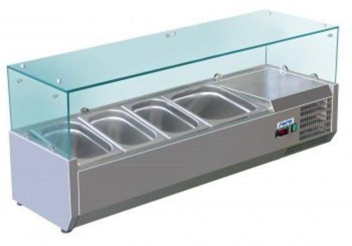 Saro Refrigerated display case Structure 3 + 3.1 x 1 x 1/2 CN