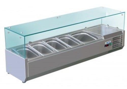 Saro Refrigerated Table Top Displays METTE VRX 1400