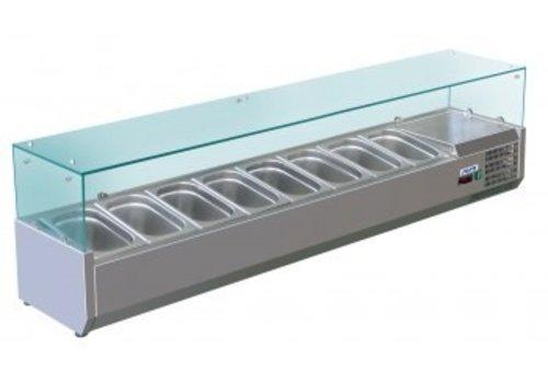 Saro Aufsatzkühlvitrine Modell METTE VRX 1800