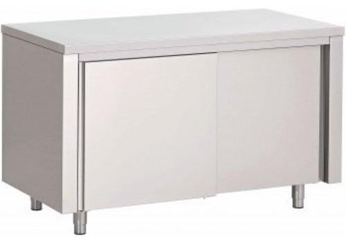 Saro Tischschrank mit 2 Schiebetüren | 140x70x (H) 85cm