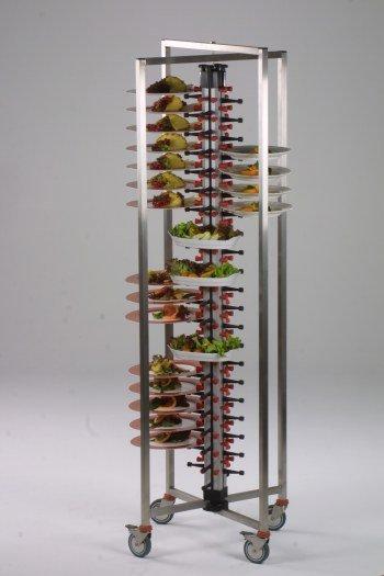 Mobiele Werktafel Keuken : mobiele-inklapbare-inox-traiteurtafel ...