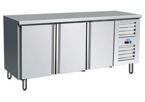 Saro Cooling Table Stainless | 179 x 70 x 89/95 cm