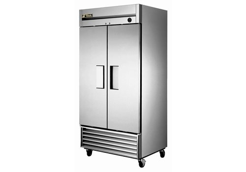 True Fridge Stainless steel | Swivel wheels 991 liters