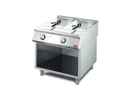 Gastro-M Friteuse, Electrisch 10+10 Liter, 70/80 FRE