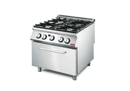 Gastro-M Horeca Cooker with Gas oven | 4 Burners