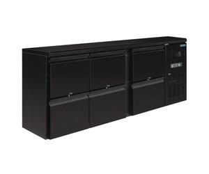 Kühlschrank Schubladen : Polar schwarz bar kühlschrank schubladen mit jahre garantie