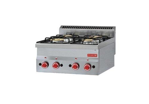 Gastro-M cooker 12.1 KW | 4 burners