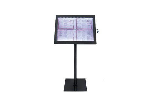 Securit Info LED Display Unit black