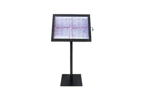 Securit Info LED Display Unit schwarz