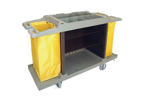 Bolero Schoonmaak huishoudwagen | 2 Formaten