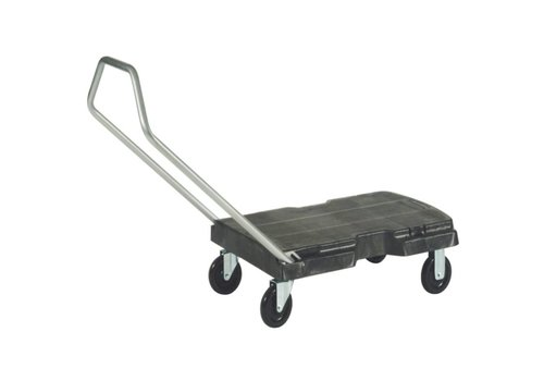 Rubbermaid Catermax Trolley, Zwart