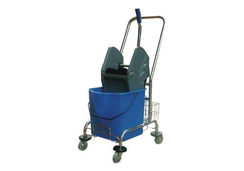 HorecaTraders Mop emmer met wring | 30 liter