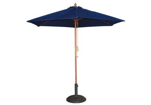 HorecaTraders Parasol navy blauw rond 3 meter (Ø)