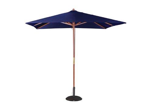 Bolero Patio parasol Blue 2.7 (h) x 2.5 (L) x 2.5 (b) meter