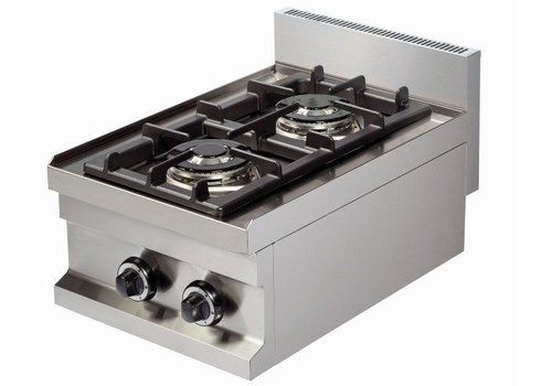 Combisteel Tabletop cooker | 2 Burners