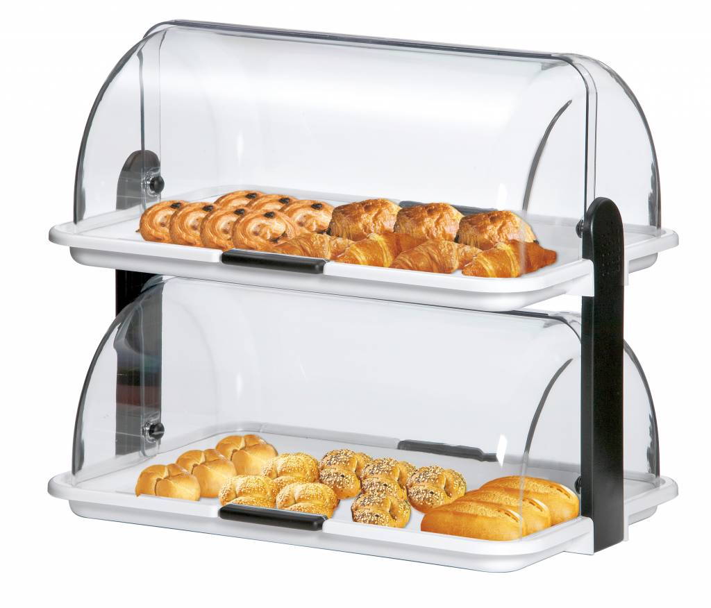 double buffet display horecatraders buy online commercial catering equipment. Black Bedroom Furniture Sets. Home Design Ideas