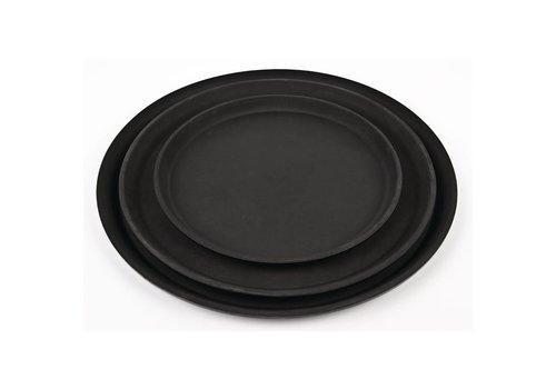 HorecaTraders Antiskid Glasfiber Black Tray | Choose from 3 Sizes