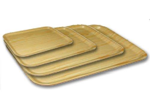 HorecaTraders Birch veneer tray | Available in 4 sizes