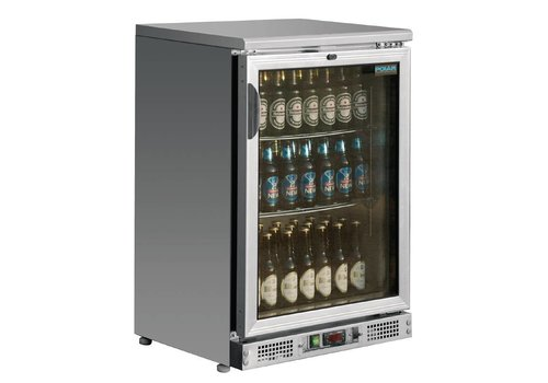 Polar Bottles fridge with glass door 92,5x60x54 cm