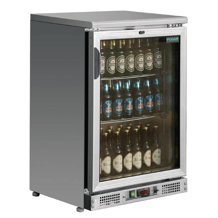 Flessenkoelkast met glazen deur kopen horecatraders - Frigo encastrable 54 x 122 ...