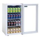 Polar Kleine Dosen Kühlschrank White - 88 Liter