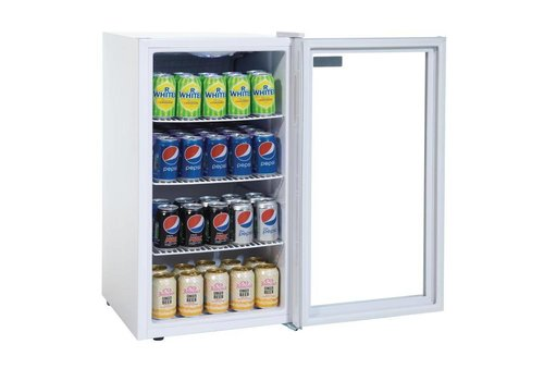 Polar Small Cans Fridge White 88 liters
