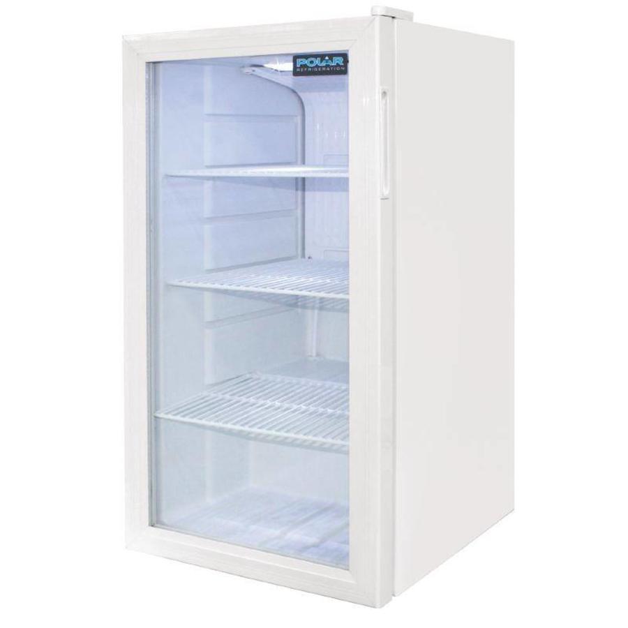 polar kleine dosen k hlschrank white 88 liter schnell und einfach online gastronomiebedarf. Black Bedroom Furniture Sets. Home Design Ideas