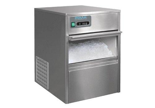 Polar Kogelvormige IJsklontjesmachine - 20kg/24u - Opslag 4kg