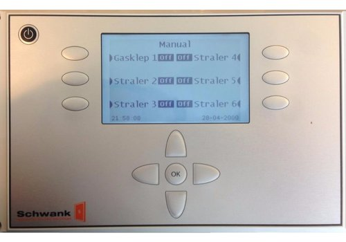 Schwank Heizpilz-Controller | 6 Gruppen