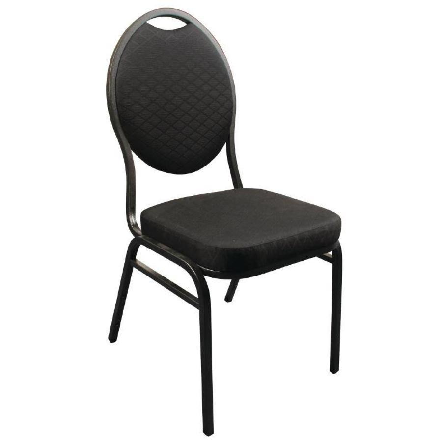 Stapelbare zwarte congresstoelen kopen horecatraders for Merk stoelen