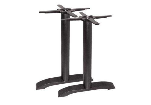 Bolero Dubbele ijzeren tafelpoten - 72 cm hoog- PRO SERIES