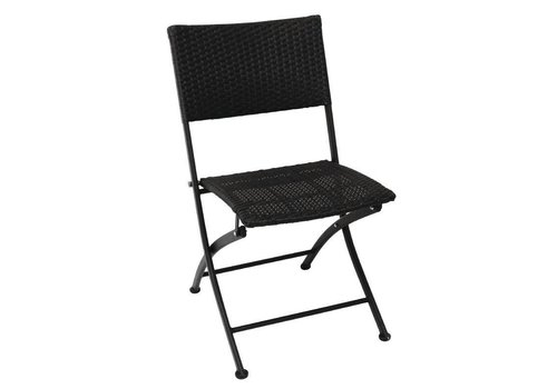 Bolero Terrace chair Rotan collapsible | 2 pieces