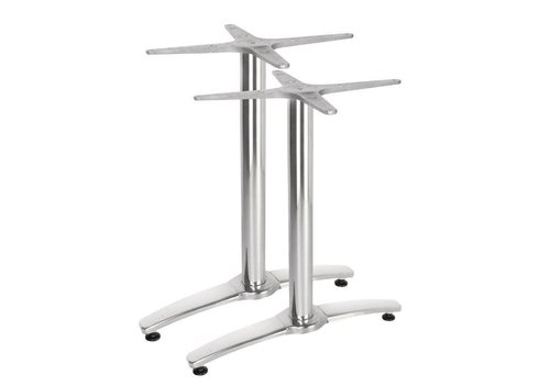 Bolero Double aluminum table leg 68 cm high