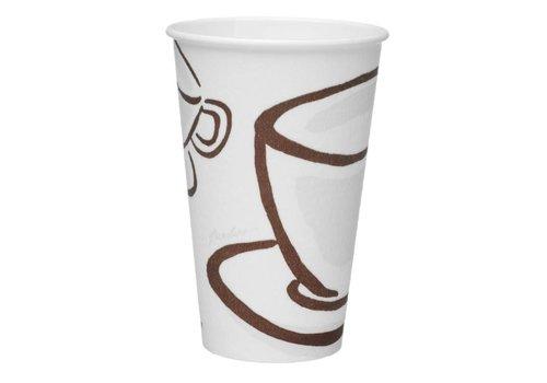 HorecaTraders Paper cup (480 pieces)