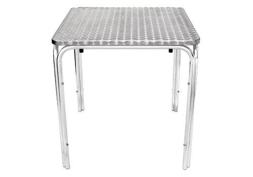 Bolero Stapelbare horeca tafels vierkant    70x70cm