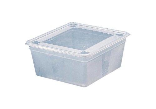 HorecaTraders voedseldoos gastronorm 2/3 15 cm (Box 4)