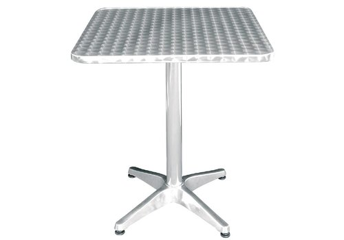 Bolero Stainless Steel Table Square 60x60 cm | MOST SOLD