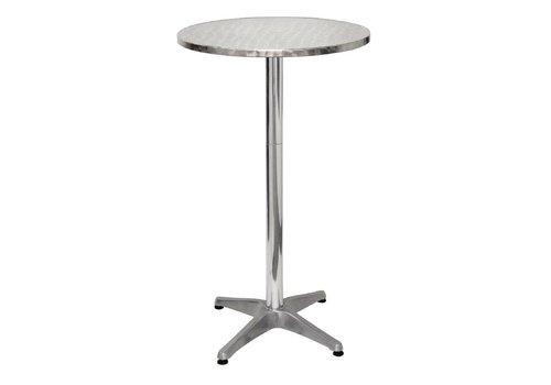 Bolero Aluminum Table Table Round 60 cm