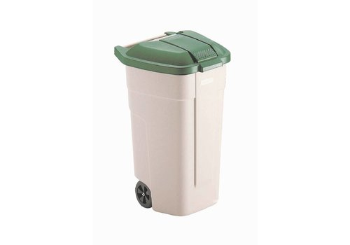 Rubbermaid Rolcontainer Green Cover | 100 liters