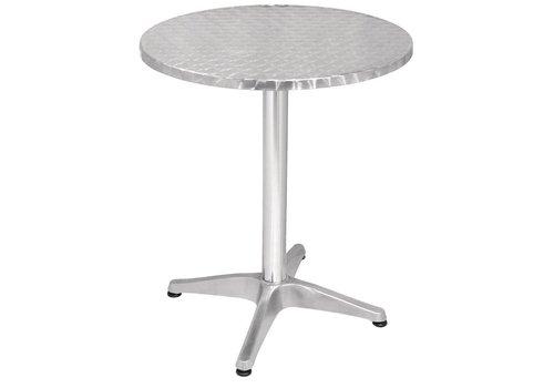Bolero Round stainless steel table round Ø 60 cm
