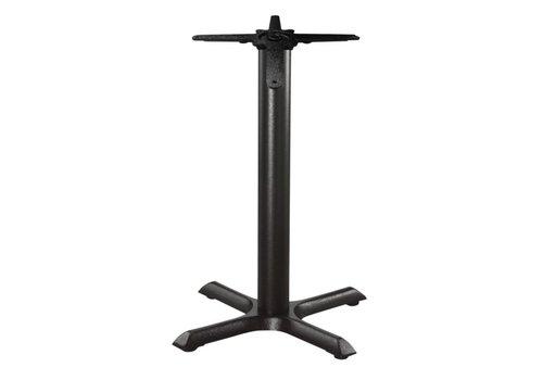 HorecaTraders Cast iron table leg - 72 cm high