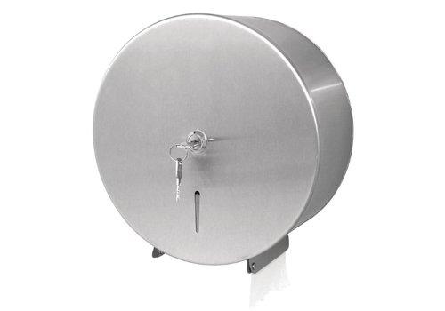 Jantex Edelstahl Jumbo Toilettenpapierhalter mit Schloss
