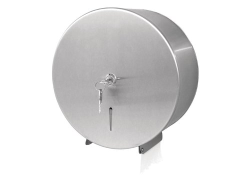 Jantex RVS Jumbo Toiletrol Dispenser met slot