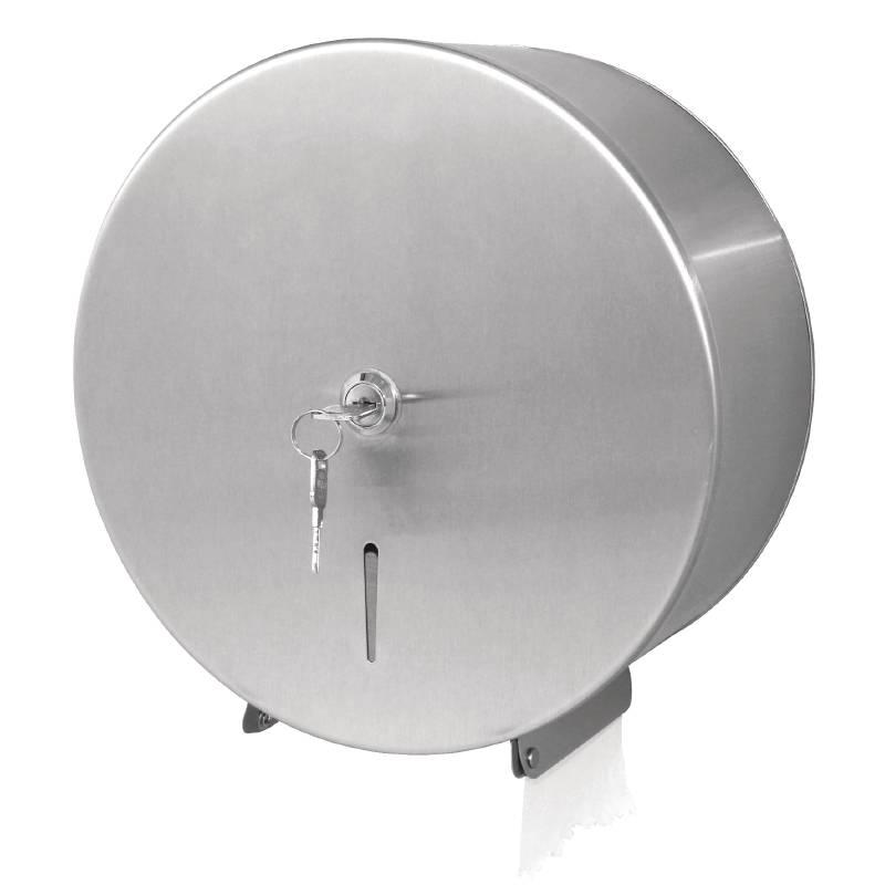 Jantex stainless steel jumbo toilet paper dispenser with - Devidoir papier toilette ...