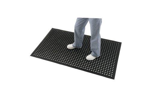 HorecaTraders Antivermoeidheidsmat zwart, 0,9x1,5m