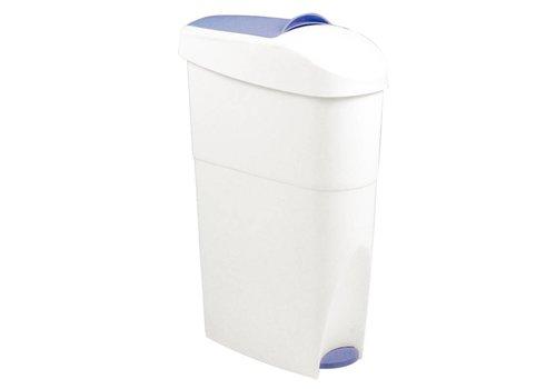 HorecaTraders Pedaalemmer Afvalbak Kunststof | 18 Liter