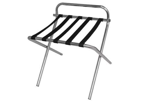 Bolero Stainless steel suitcase stand